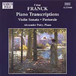 Franck: Piano Transcriptions (CD)