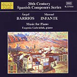 Barrios & Infante: Piano Works (CD)