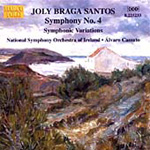 Santos: Symphony No 4; Symphonic Variations (CD)