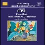 Homs: Piano Works (CD)