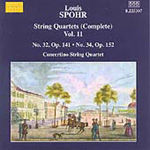 Spohr: String Quartets, Vol 11 (CD)