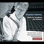 Produktbilde for Koppel: Works for Saxophone and Orchestra (CD)