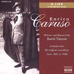 Produktbilde for Enrico Caruso - A Life in Words and Music (CD)