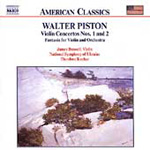 Piston: Violin Concertos Nos 1 & 2; Fantasia (CD)