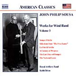 Sousa: Works for Wind Band, Vol 3 (CD)