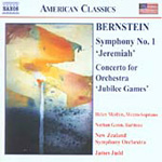 Bernstein: Symphony No 1; Concerto for Orchestra, 'Jubilee Games' (CD)