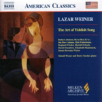 Weiner: The Art of Yiddish Song (CD)