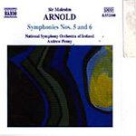 Arnold: Symphonies Nos. 5 and 6 (CD)