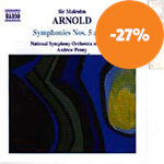 Produktbilde for Arnold: Symphonies Nos. 5 and 6 (CD)