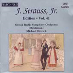 Johann Strauss II Edition, Vol.41 (CD)