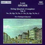Spohr: String Quartets, Vol.9 (CD)