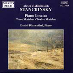 Stanchinsky: Piano Works (CD)