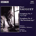 Sauguet: Symphonies Nos 3 and 4 (CD)