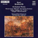 Rabaud: Orchestral Works (CD)
