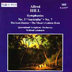 Alfred Hill: Symphonies Nos. 3 and 7 etc (CD)