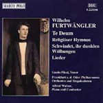 Furtwängler: Lieder and Choral Works (CD)