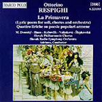 Respighi: Vocal Works (CD)