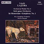 Lajtha: Orchestral Works, Vol. 4 (CD)