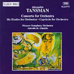 Tansman: Orchestral Works (CD)