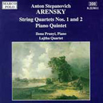 Arensky: String Quartets; Piano Quintet (CD)