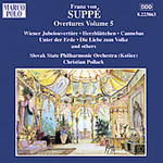 Suppé: Overtures, Volume 5 (CD)