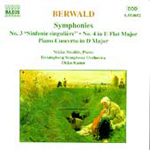 Berwald: Orchestral Works (CD)