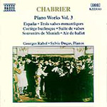 Chabrier: Piano Works, Volume 3 (CD)