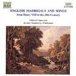 English Madrigals & Songs (CD)