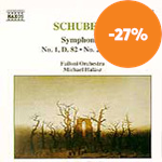 Schubert: Symphonies Nos 1 and 2 (CD)