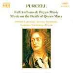 Purcell: Choral and Organ Music (CD)