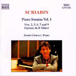 Scriabin: Piano Sonatas, Volume 1 (CD)