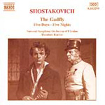 Shostakovich: The Gadfly. Five Days - Five Nights (CD)