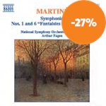 Produktbilde for Martinu: Symphonies Nos 1 & 6 (CD)