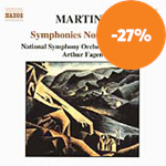 Produktbilde for Martinu: Syms Nos. 2 & 4 (CD)