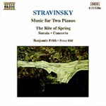Stravinsky: Works for Two Pianos (CD)