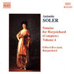 Soler: Harpsichord Sonatas, Vol. 4 (CD)