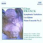 Franck: Works for Piano & Orchestra (CD)