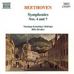 Beethoven: Symphonies Nos 4 and 7 (CD)