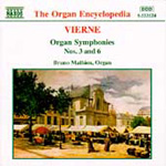 Vierne: Organ Symphonies Nos 3 and 6 (CD)