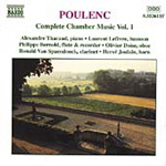 Poulenc: Complete Chamber Music, Vol 1 (CD)