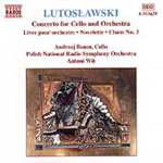 Lutoslawski: Cello Concerto (CD)