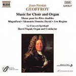 Geoffroy: Music for Choir and Organ (CD)