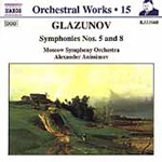 Glazunov: Orchestral Works, Volume 15 (CD)