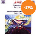 Produktbilde for Arnold: Symphonies Nos 3 & 4 (CD)