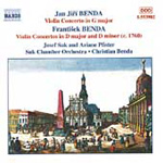 Benda: Violin Concertos (CD)
