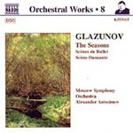 Glazunov: The Seasons; Scènes de Ballet; Scène Dansante (CD)