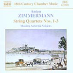 Zimmermann: String Quartets Op 3 (CD)