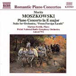 Moszkowski: Piano Concerto in E; From Foreign Lands (CD)