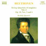 Beethoven: String Quartets, Volume 2 (CD)