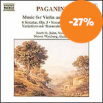 Produktbilde for Paganini: Music for Violin and Guitar I (CD)
